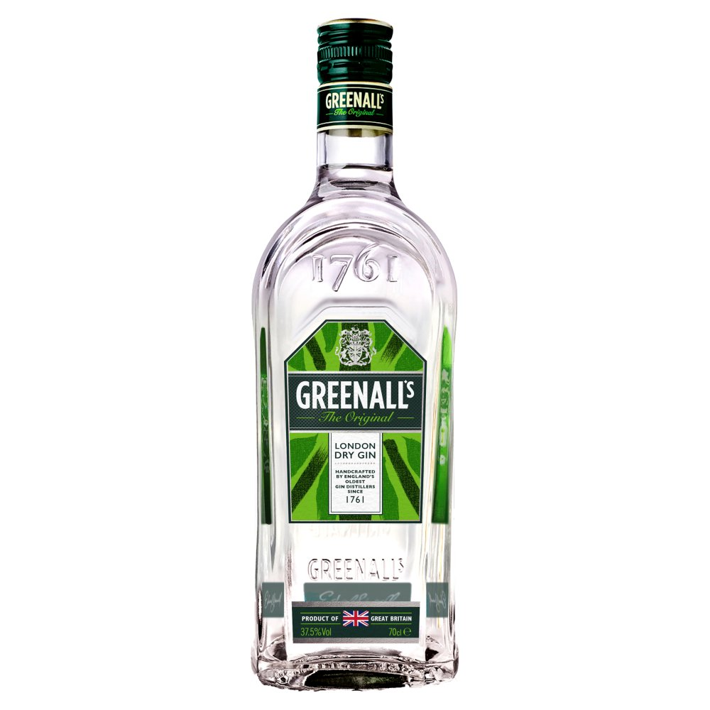 Greenalls London Gin 37.5percent