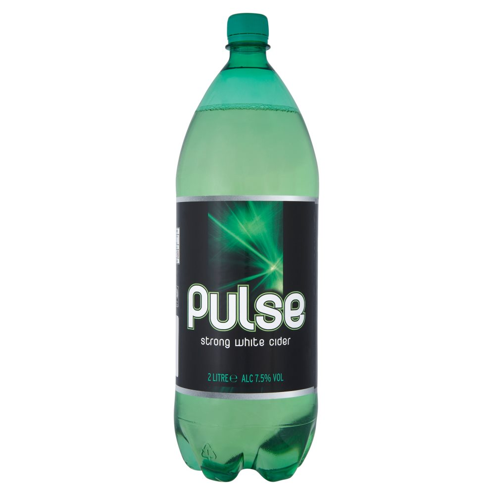 Pulse Strong White Cider 2Ltr