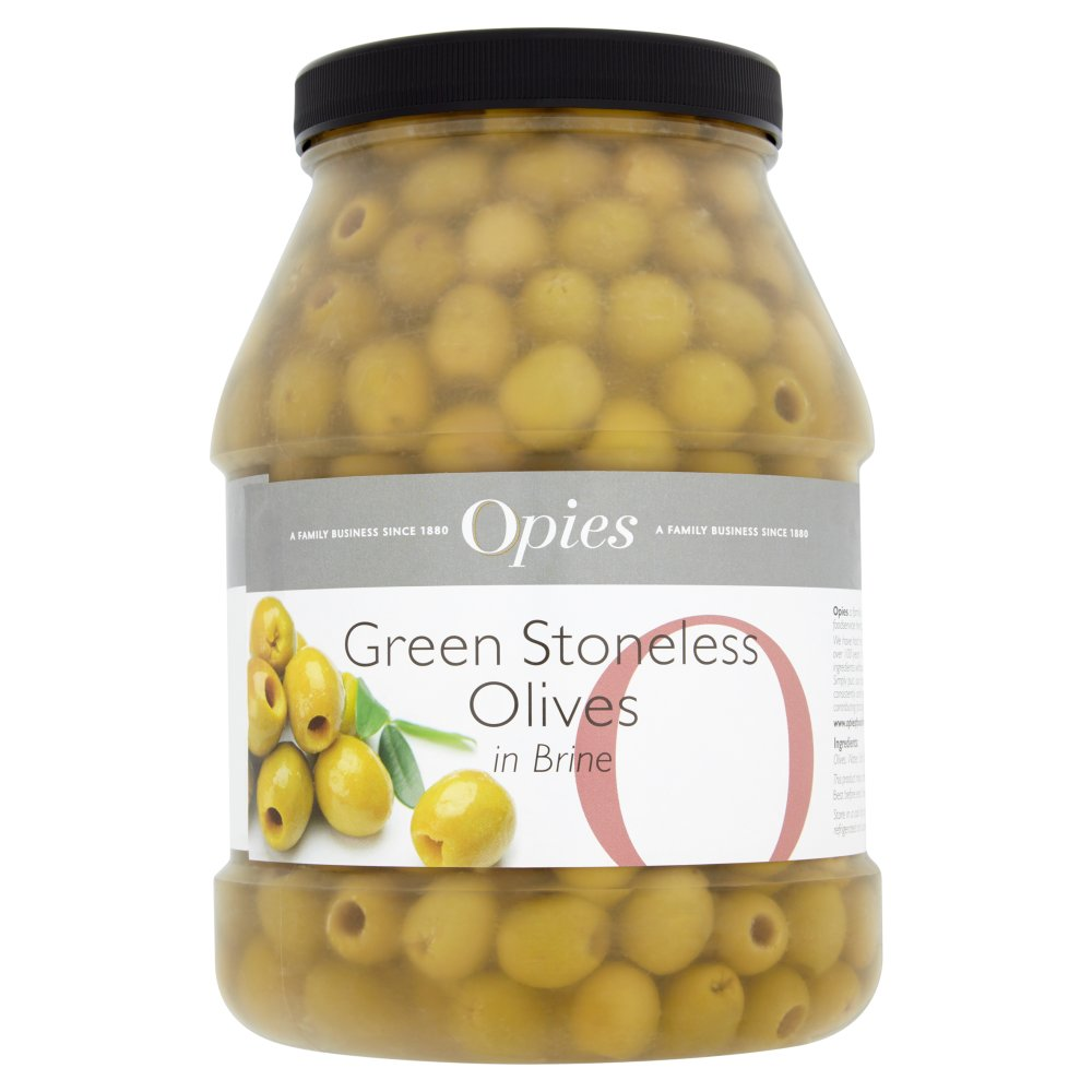 Opies Pitted Green Olives