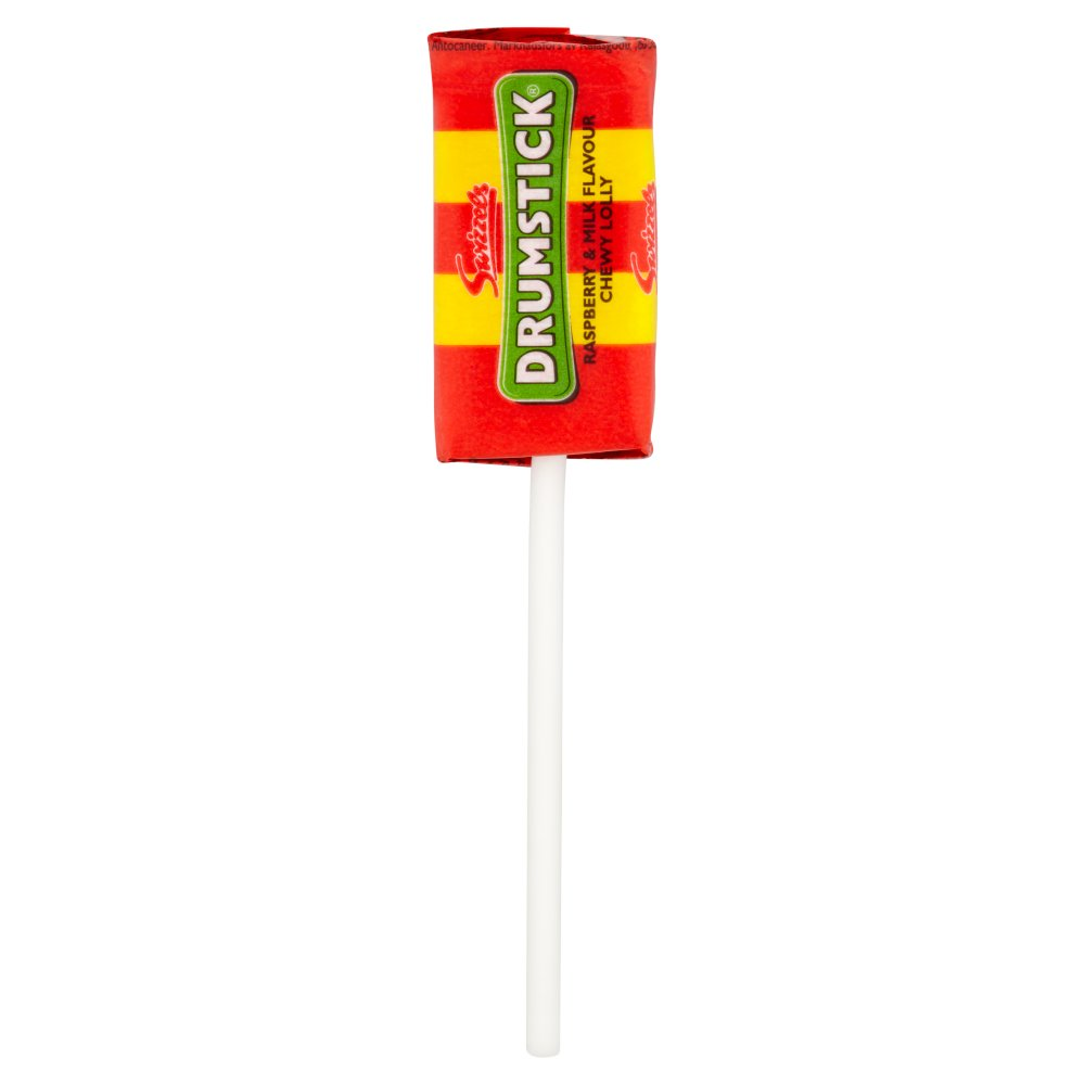 Swizzels Drumstick Lolly Raspberry and Milk 12g