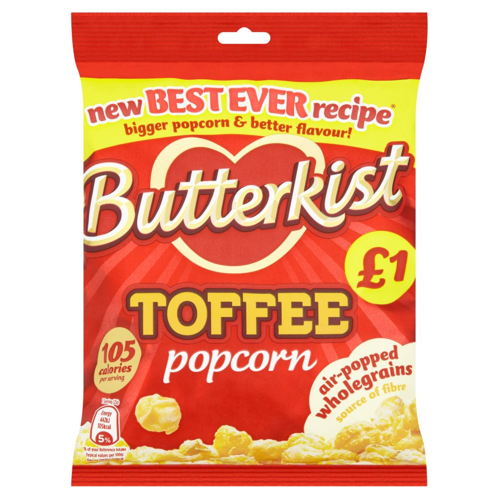 Butterkist Toffee PM £1