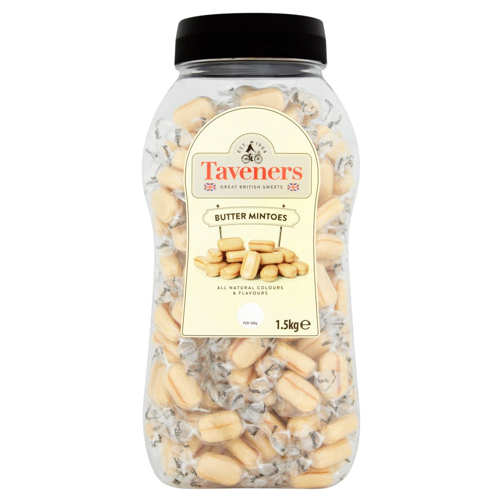 Taveners Butter Mintoes Jar