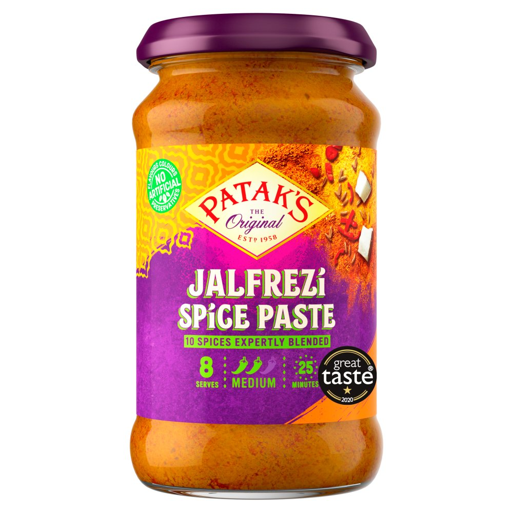 Patak's The Original Jalfrezi Spice Paste 283g