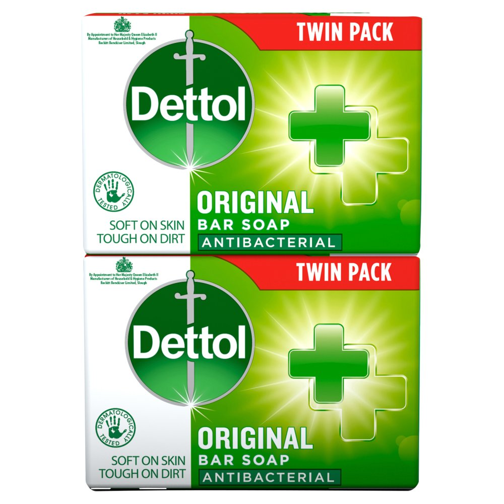 Dettol Anti Bacteria Soap Twin
