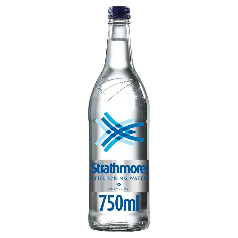 Strathmore Still Spring Water 750ml Glass Bottle