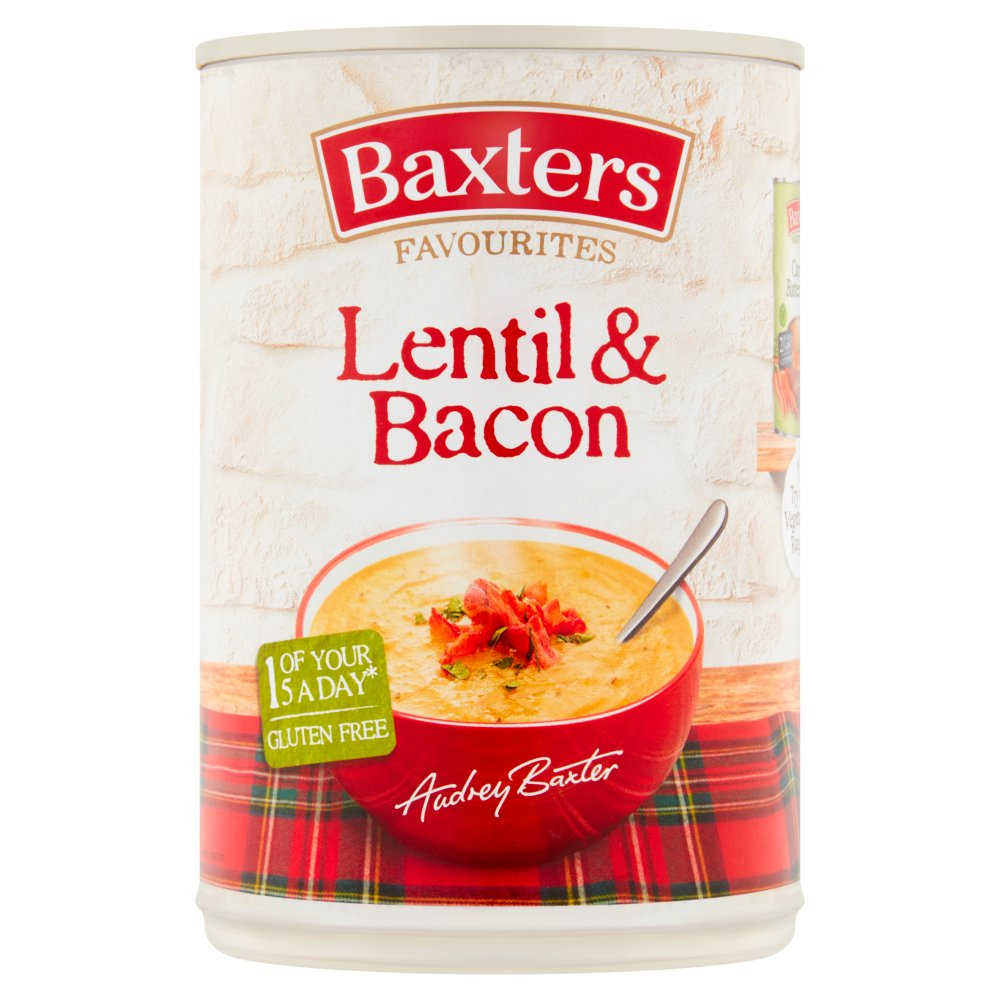 Baxters Favourites Lentil & Bacon 400g