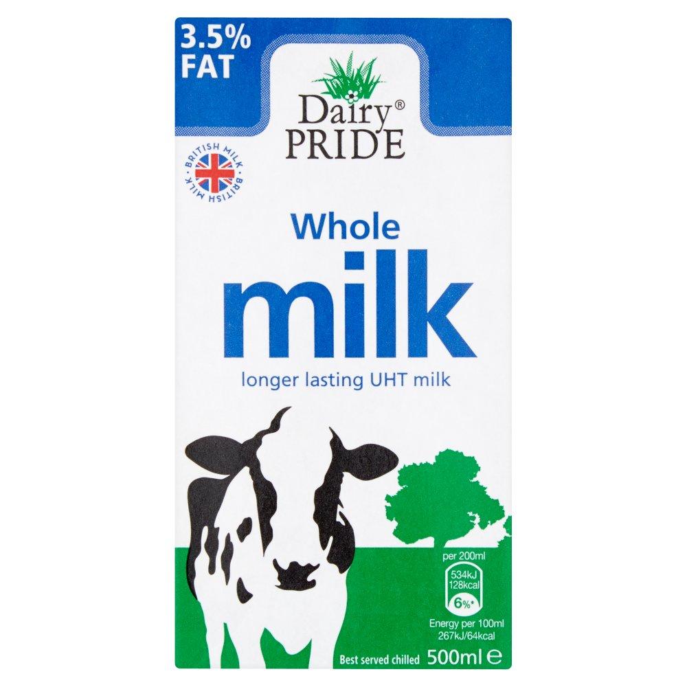 Dairy Pride Whole UHT Milk 500ml