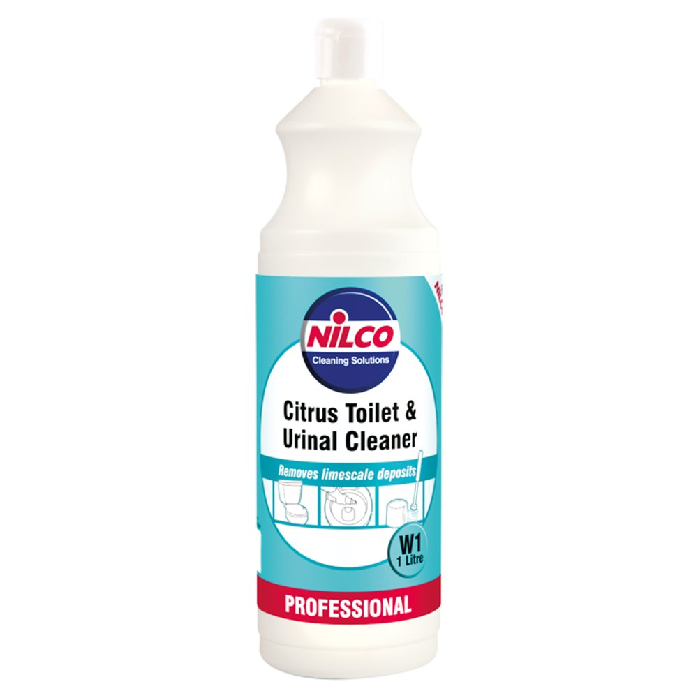 Nilco Professional Citrus Toilet & Urinal Cleaner W1 1 Litre