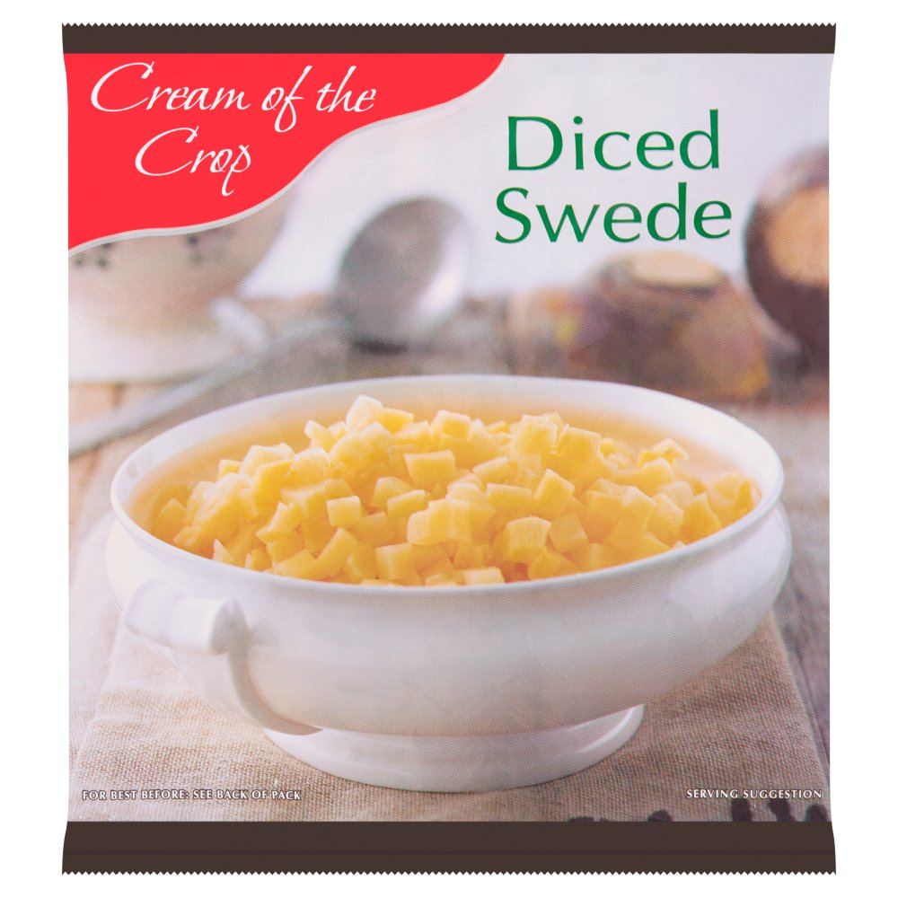 Cream of the Crop Diced Swede 907g