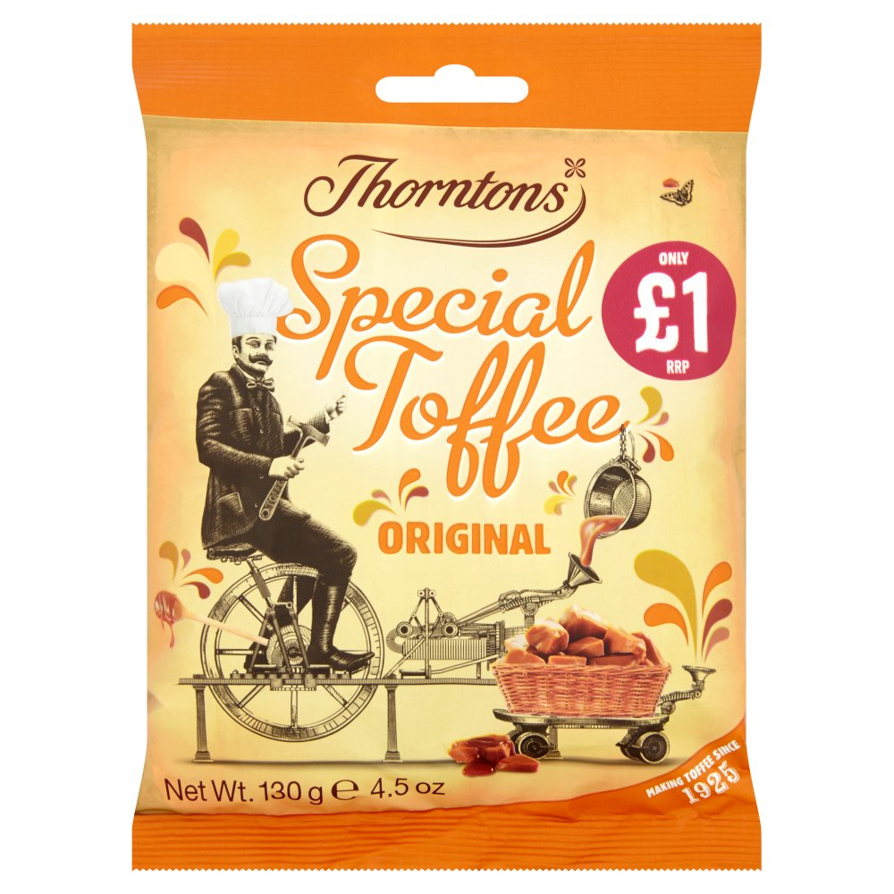 Thornton Toffee Bags £1.00