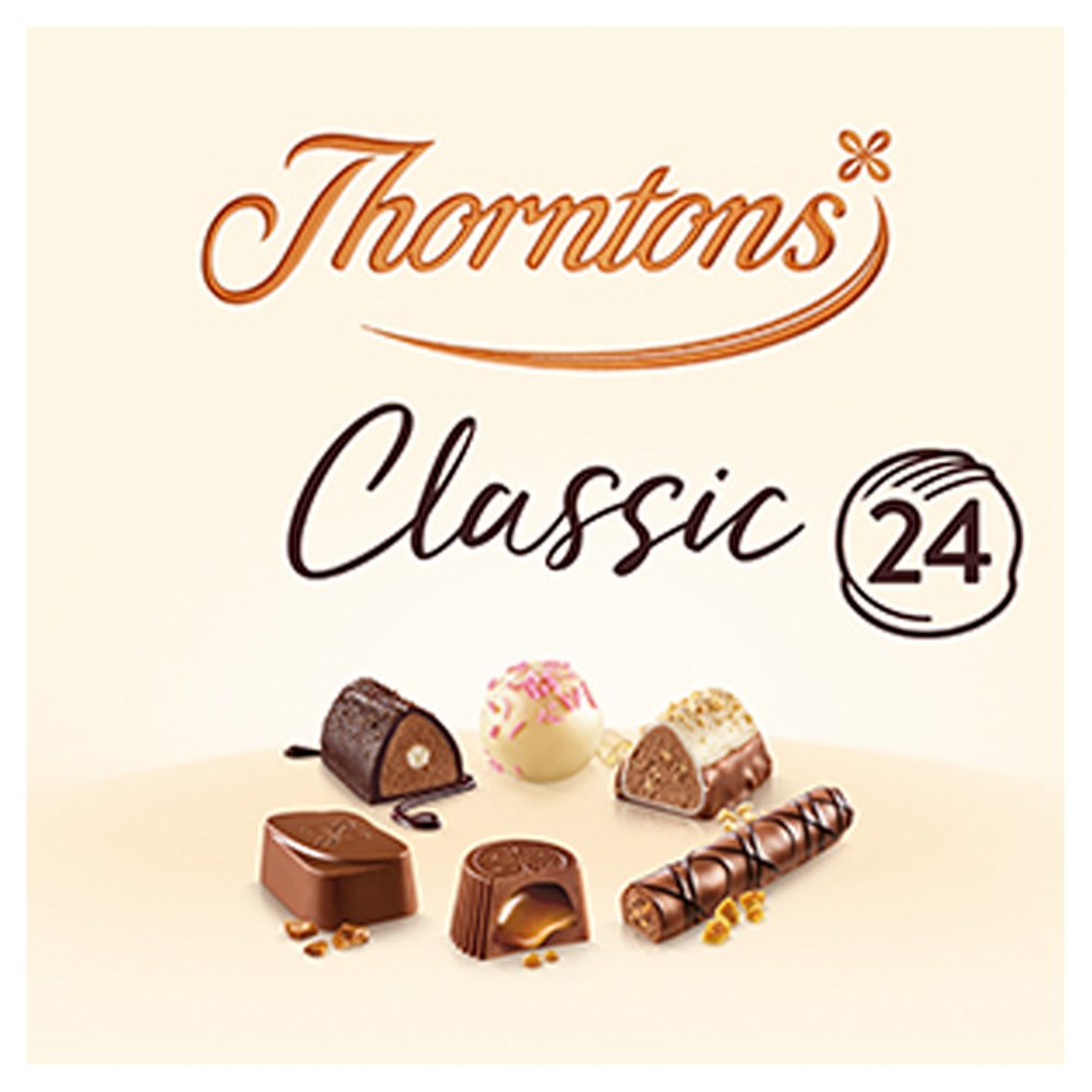 Thorntons Classic Assorted Gift Box Chocolates 262g Best One