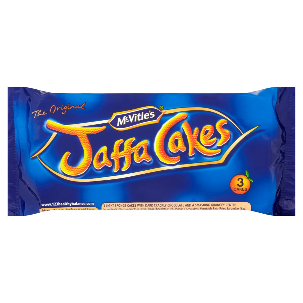 Mcvities Jaffa Snack Packs