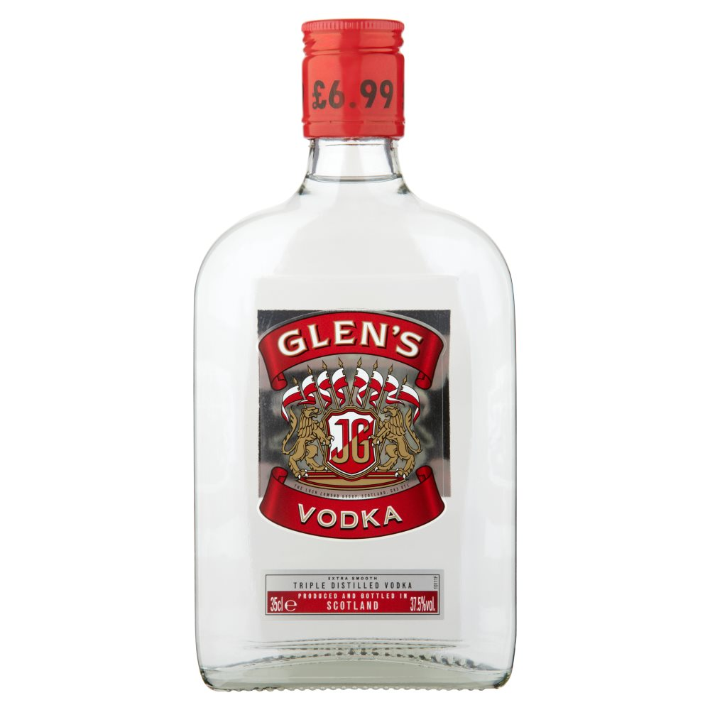 Glens Vodka £6.99
