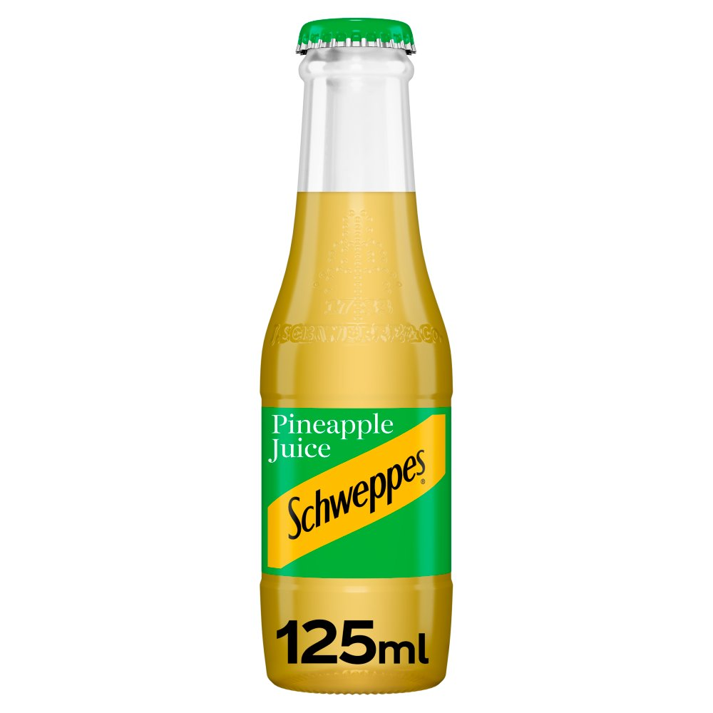 Schweppes Pineapple Juice 24x125ml