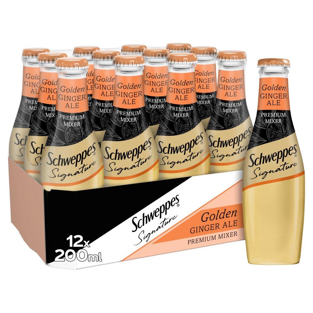 Schweppes 1783 Golden Ginger Ale 12 x 200ml
