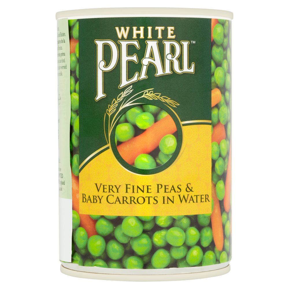 White Pearl Peas And Carrots