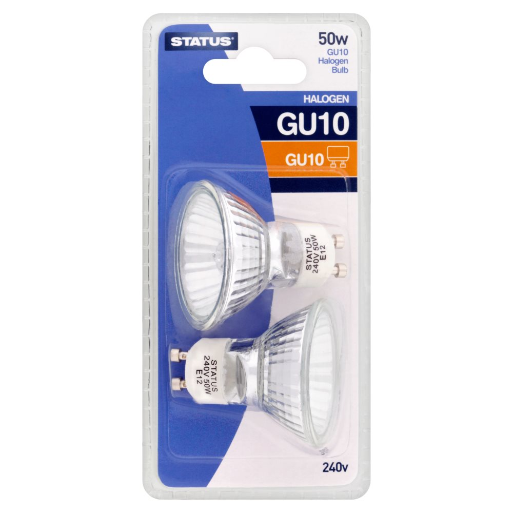 Status Bulb Gu10 2pack Light Bulbs