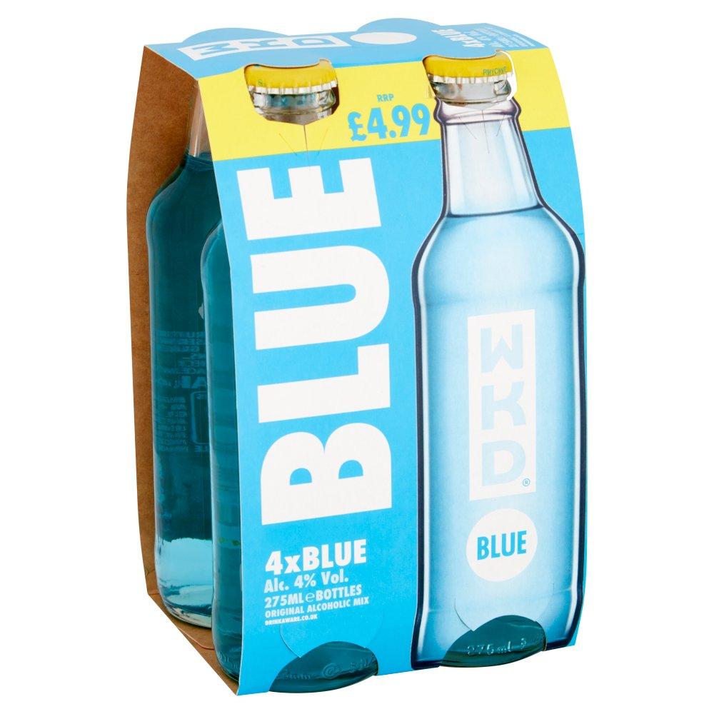 WKD Blue 4 x 275ml