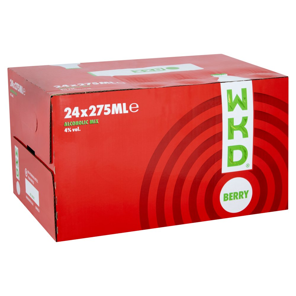 WKD Berry 24 x 275ml