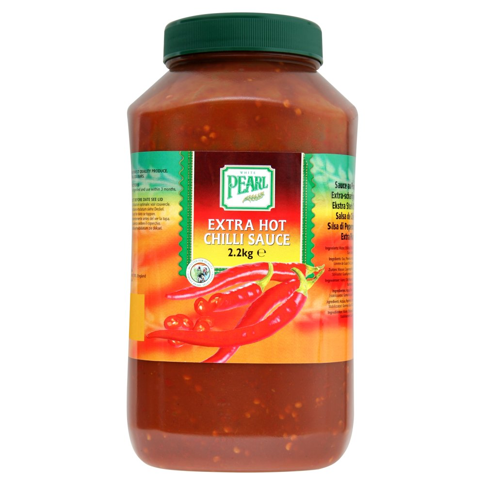 White Pearl Extra Hot Chilli Sauce 2.2Kg