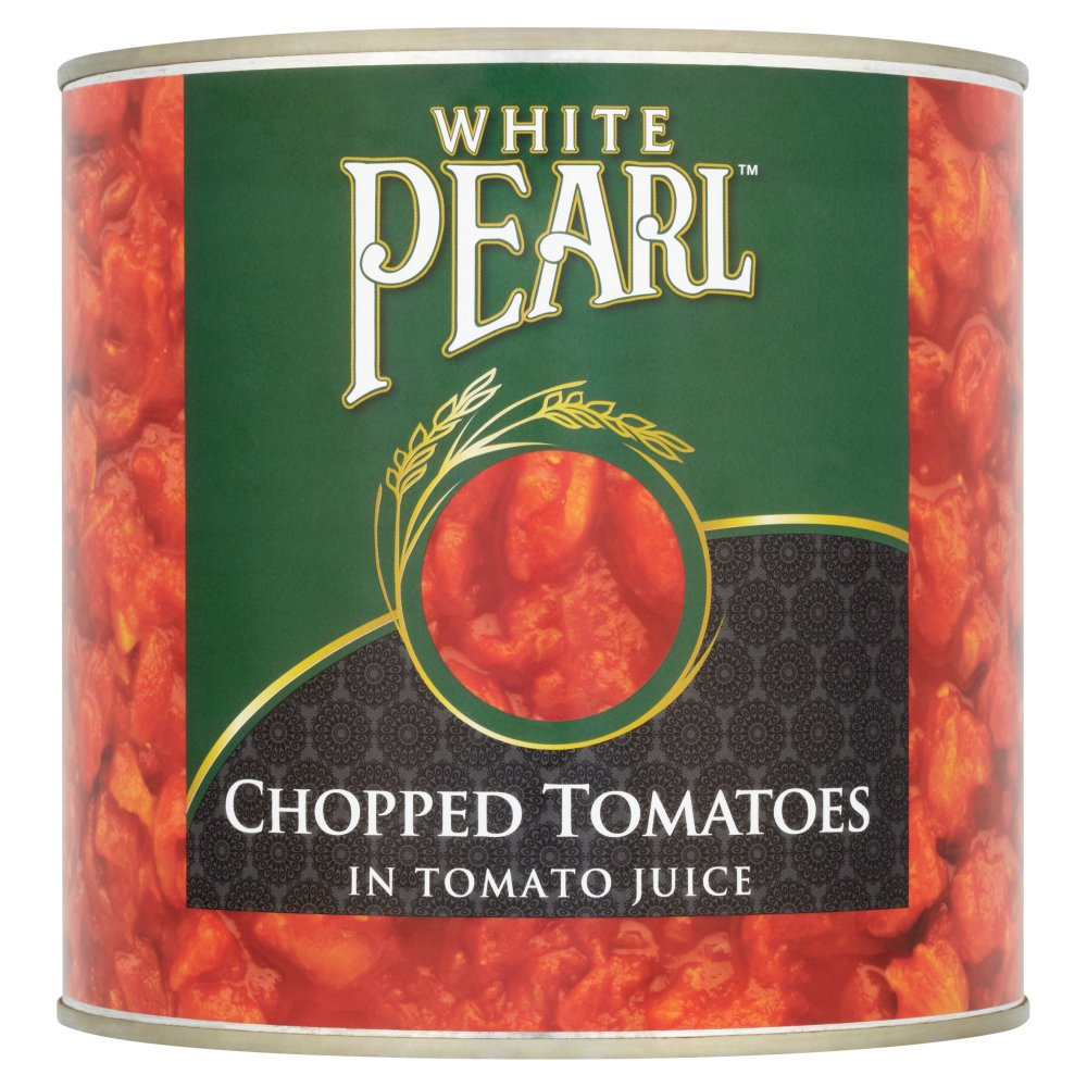White Pearl Chopped Tomatoes 2.55Kg