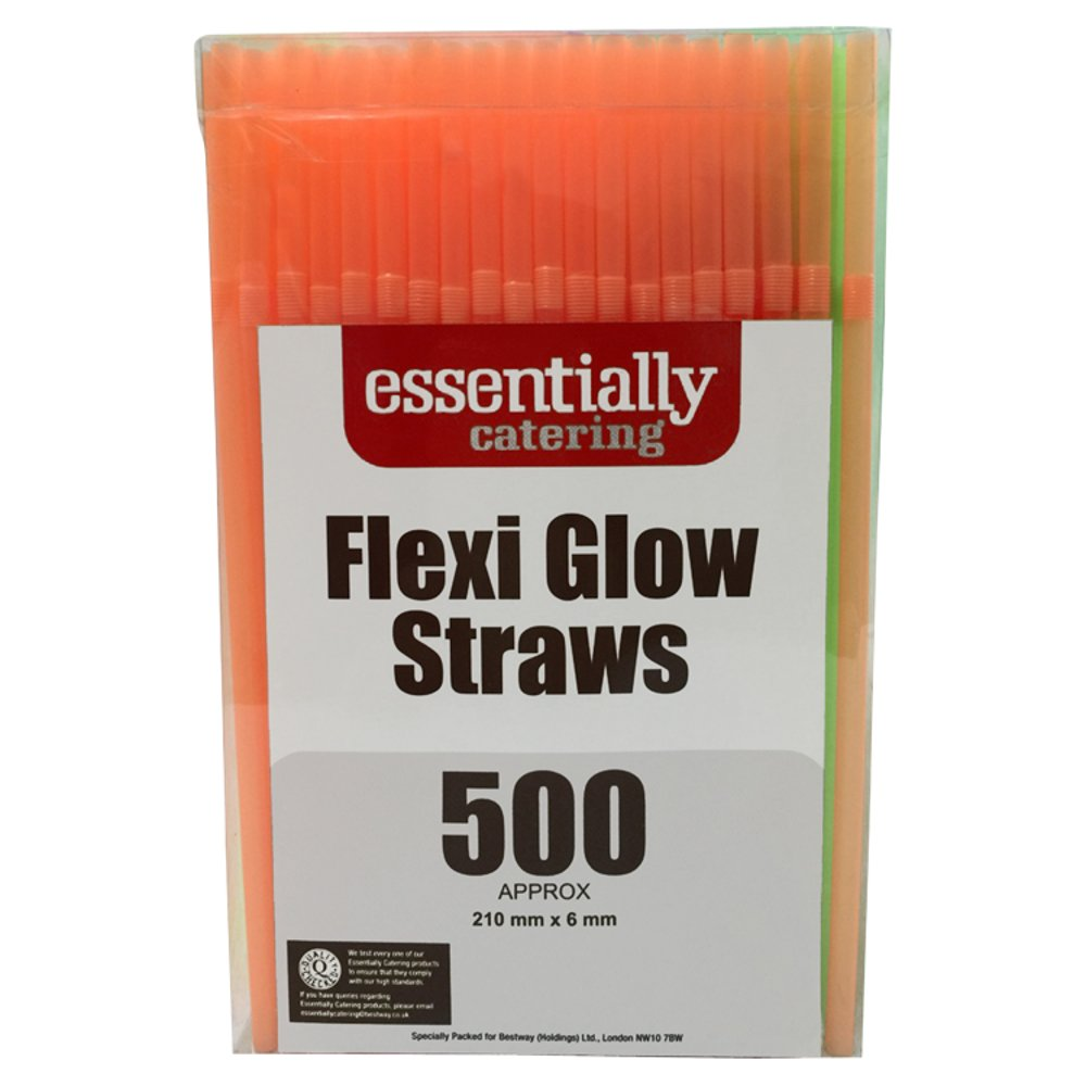 Essentially Catering Flexi Glow Straws