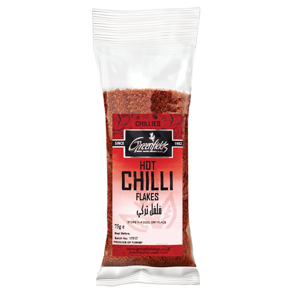 Greenfields Hot Chilli Flakes