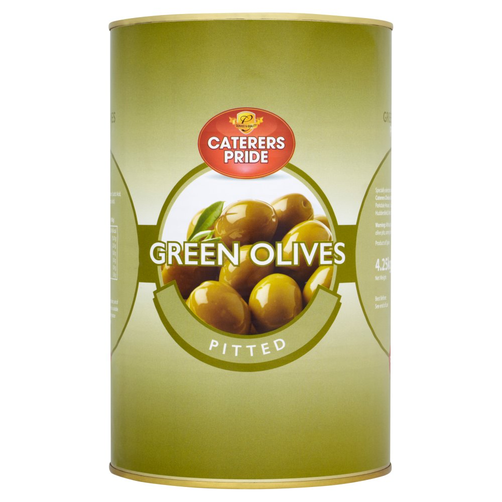 Caterers Pride Pitted Green Olives