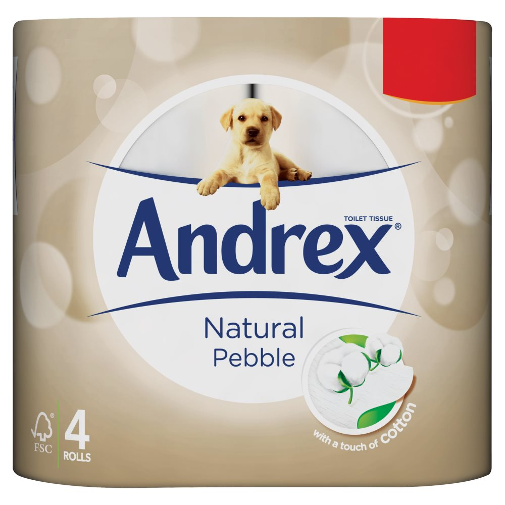 Andrex Natural PM £1.99