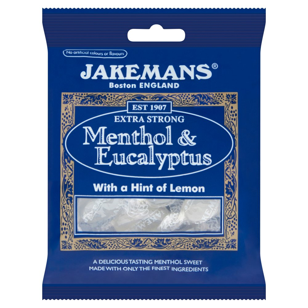 Jakemans Menthol & Eucalyptus Medicated Sweet Bags