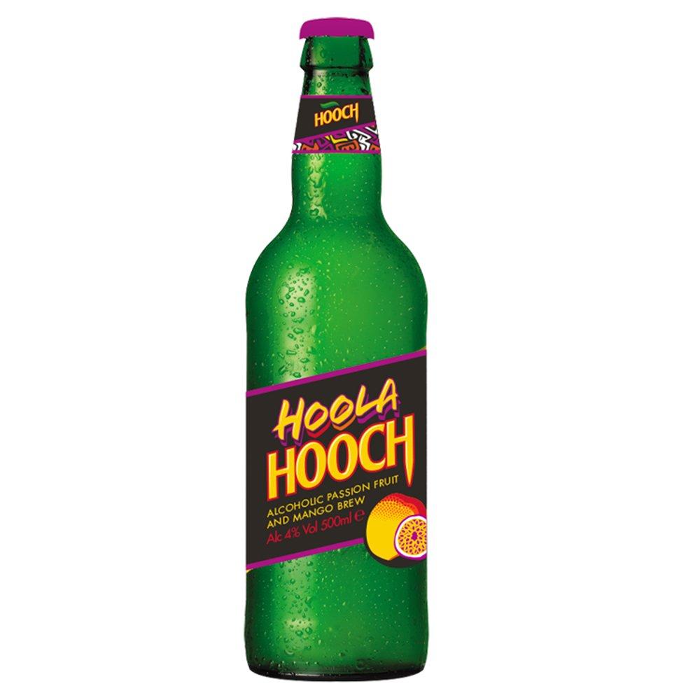 Hooch Hoola Alcoholic Passion Fruit and Mango Brew 500ml