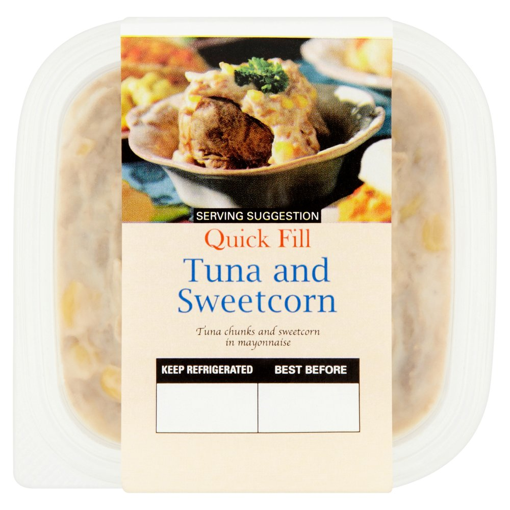 Quick Fill Versatile Deli Fillers Tuna and Sweetcorn 230g