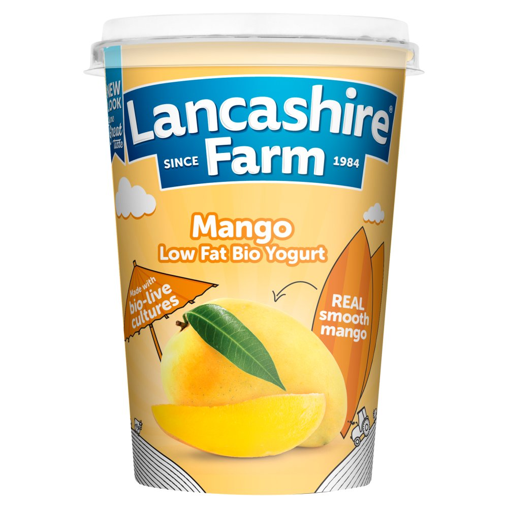 Lancashire Mango Low Fat Yogurt