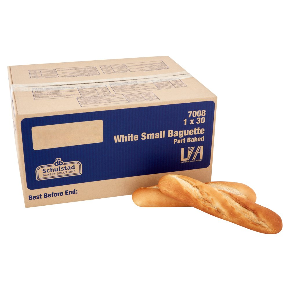 Schulstad Bakery Solutions White Small Baguette Part Baked