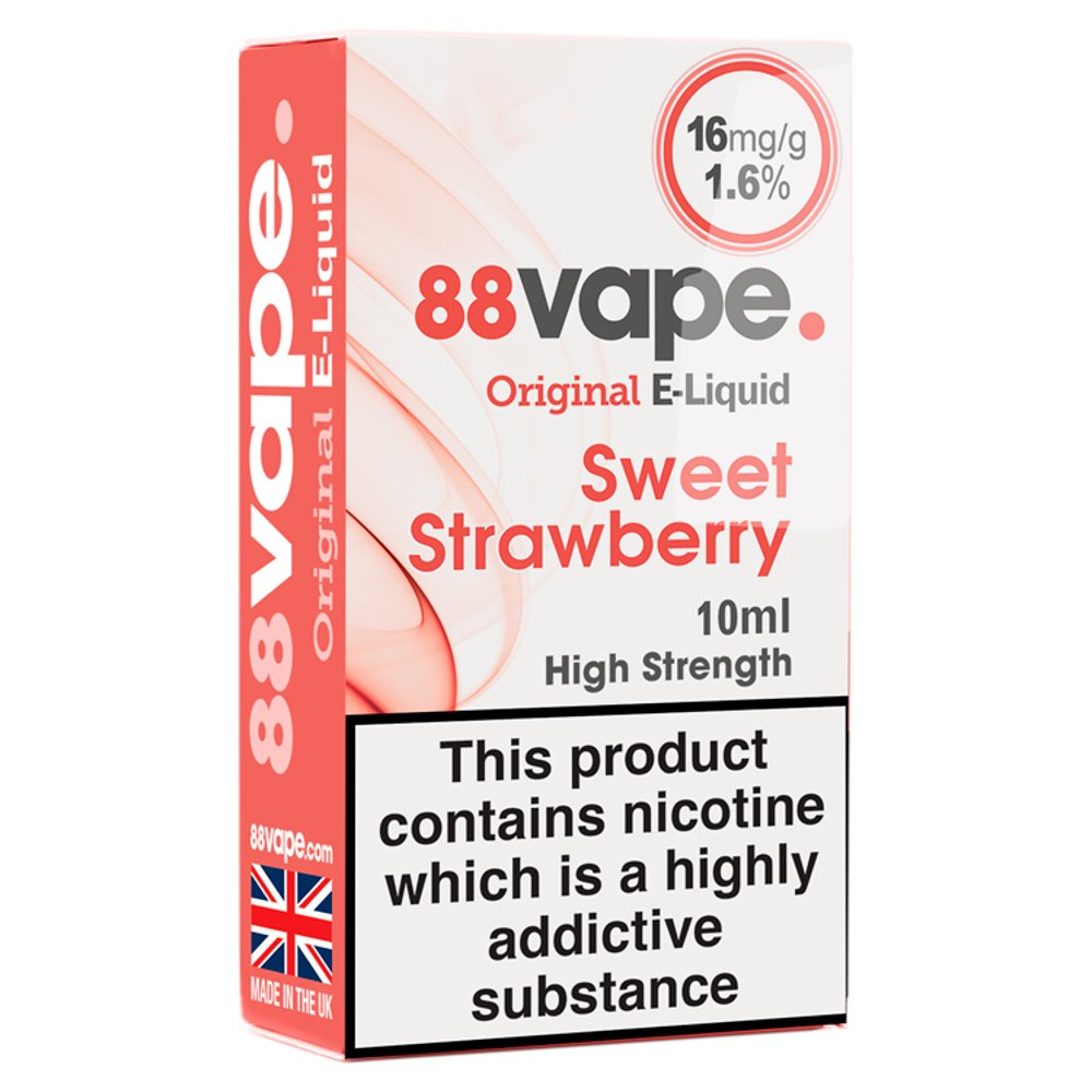 88Vape E-Liquid Sweet Strawberry