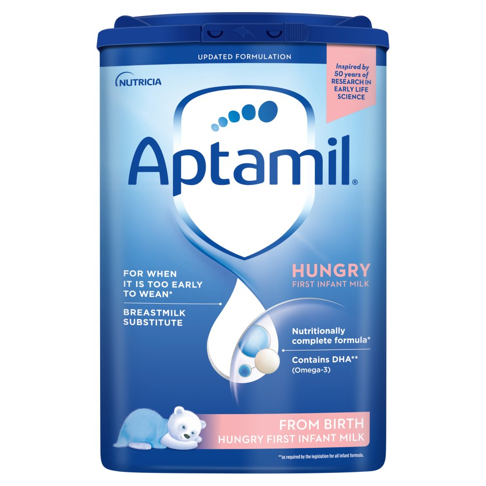 Aptamil Hungry First Infant Milk from Birth 800g