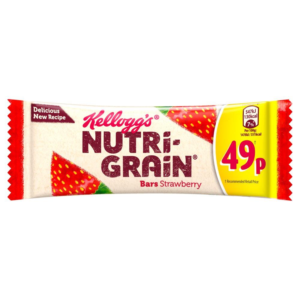 Kelloggs, Nutri-Grain Bars Strawberry, 16 bars - 20.8 oz