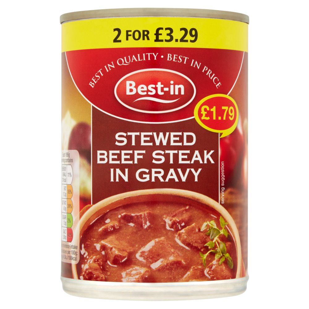 Bestin Stewed Steak PM £1.79