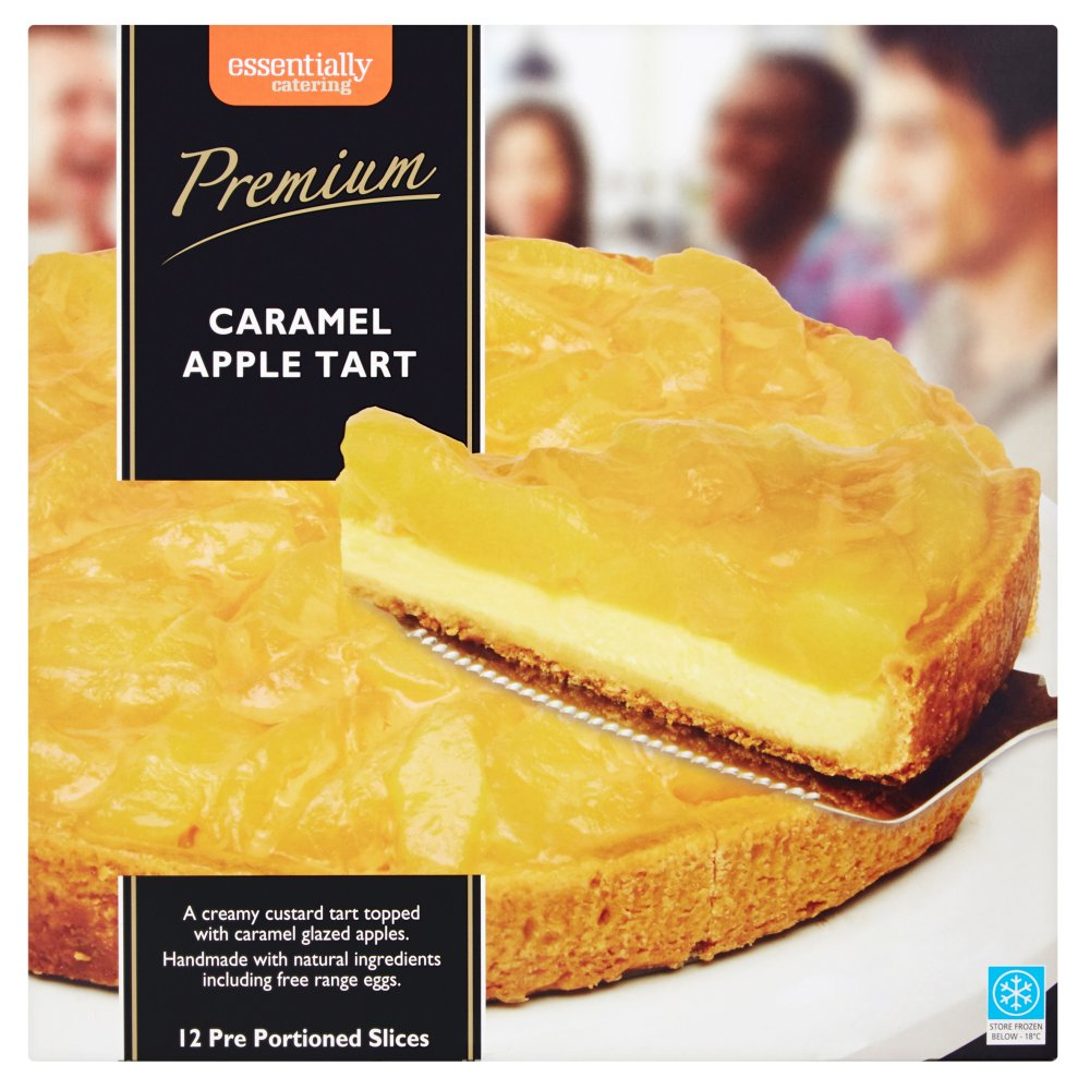 Essentially Catering Caramel Apple Tart - Batleys Wholesale