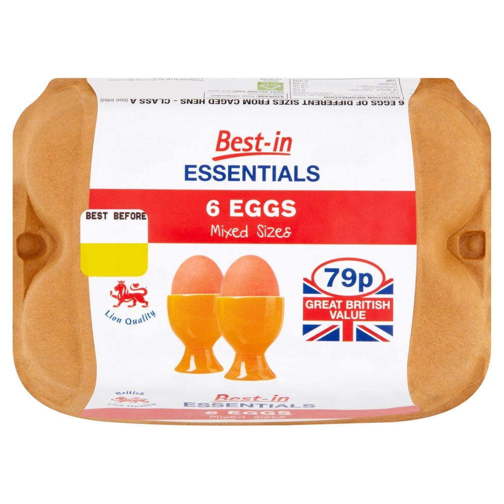 Bestin Essentials Eggs Mixed PM 79p
