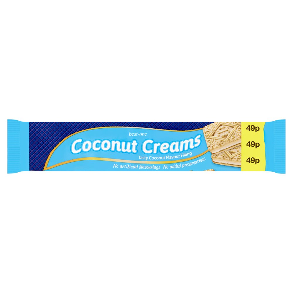 Best-One Coconut Creams 150g
