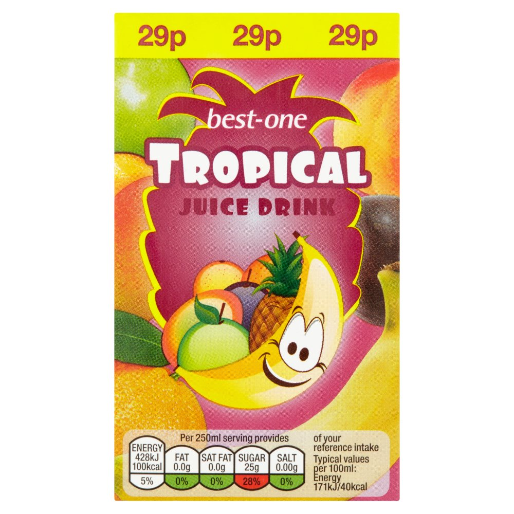 Best-One Tropical Juice Drink 250ml