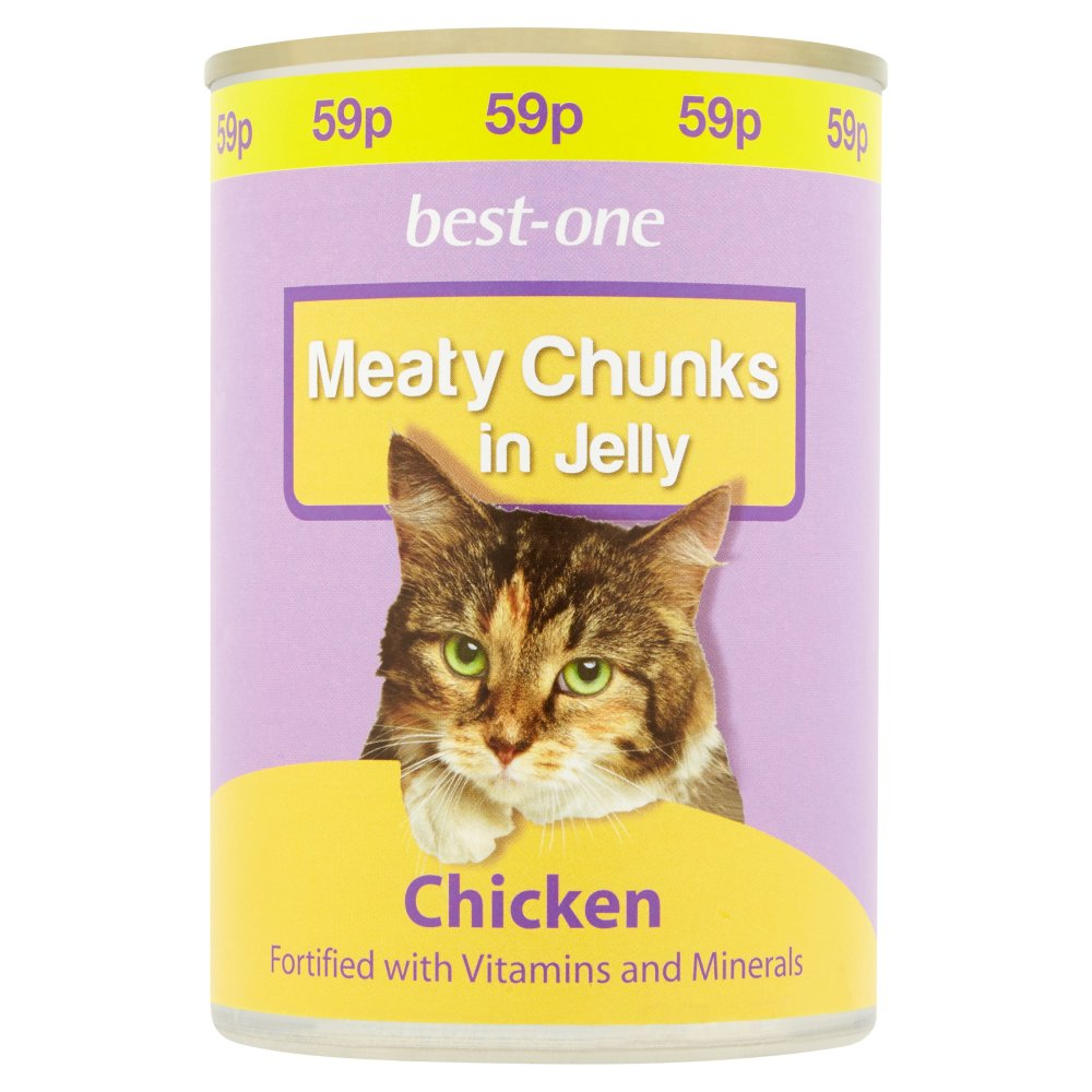 Best-One Meaty Chunks in Jelly Chicken 400g