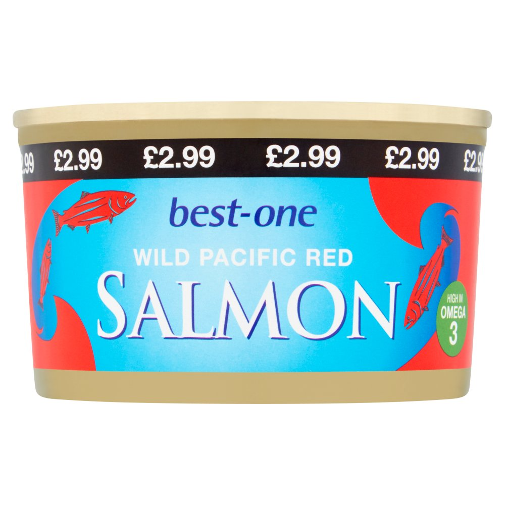 Best-One Wild Pacific Red Salmon 213g