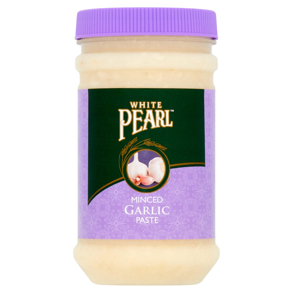 White Pearl Minced Garlic Paste 330g