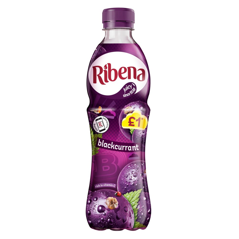 Ribena Blackcurrant 500ml £1 PMP