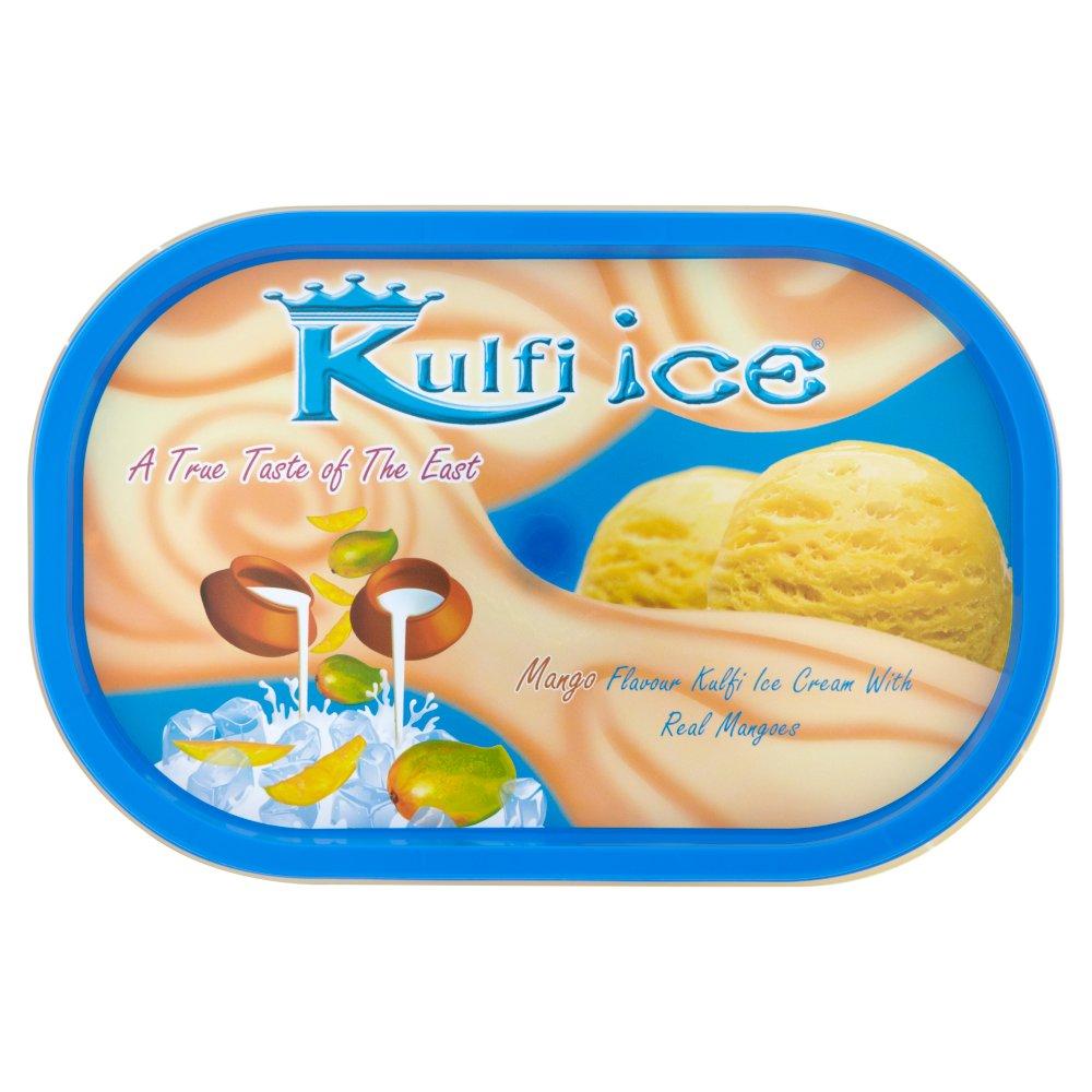 Kulfi Ice Mango Flavour Kulfi Ice Cream with Real Mangoes 1 Litre