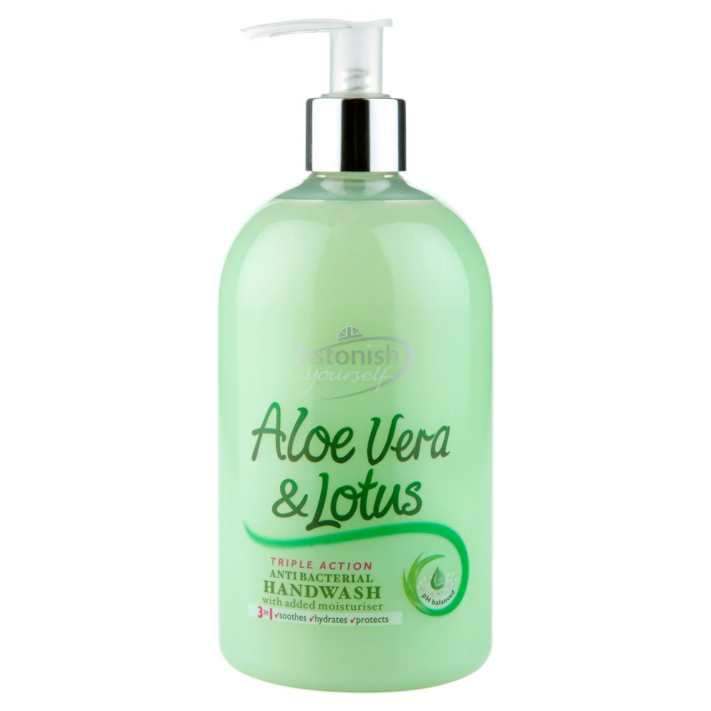 Astonish Handwash Aloevera & Lotus PM £1