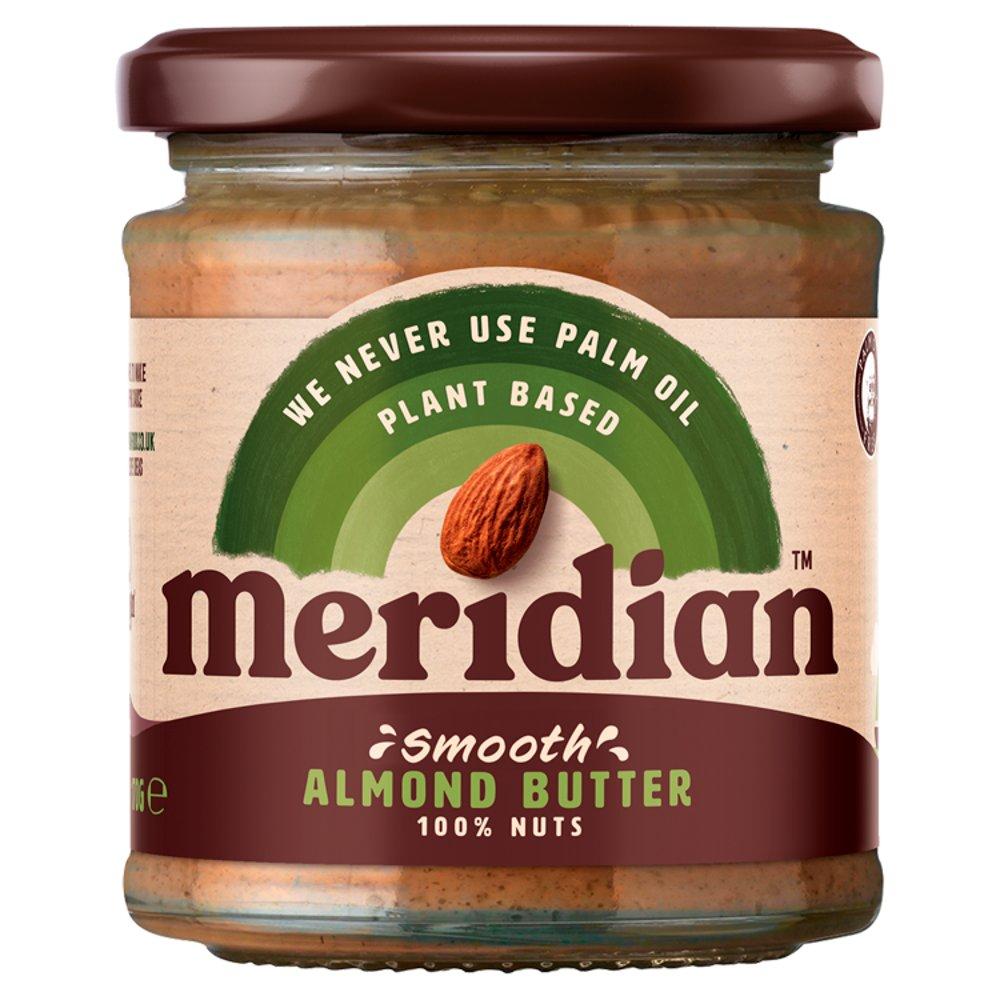 Meridian Smooth Almond Butter 170g Jar