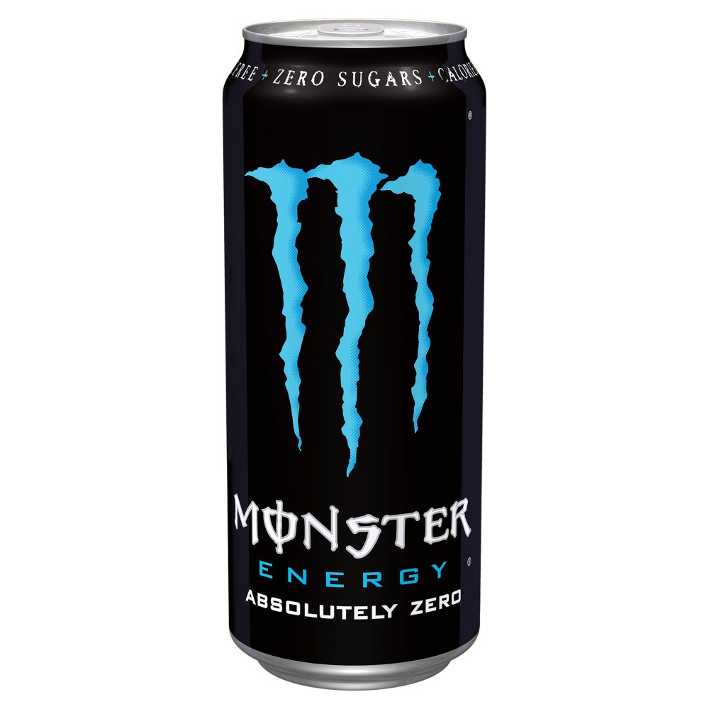 Monster Absloute Zero 500ml PMP £1.19